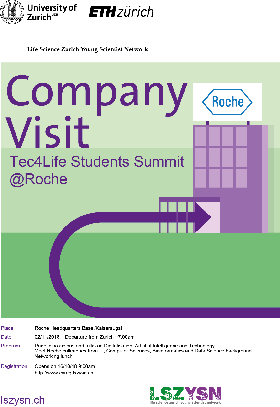 Tec4Life Students Summit, Roche